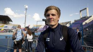 Oliver Helander, U23-EM 2017.