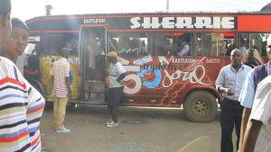 Buss i Eastleigh