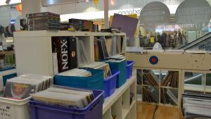 LP-skivor i affär