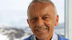 Olav Helge Førde, professor i hälsoservice vid universitetssjukhuset i Tromsö.