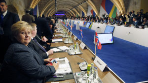 Ett sextiotal länder från EU och Afrika deltog i ett möte i Malta