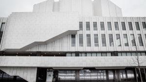 Finlandiahusets fasad