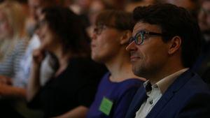 Ville Niinistö vid partikongressen 21.5.2016