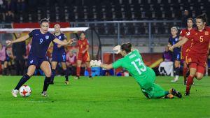 Jodie Taylor har gjort fyra mål.