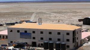 Bolivias första statsägda anläggning för produktion av litiumkarbonat