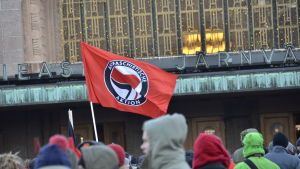 En antifascistisk demonstration