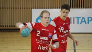 Benny Broman och Filip Söderlund.