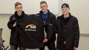 Ruotsinkielisen ammattikoulun Prakticumin eSportsjoukkueen kapteenit
