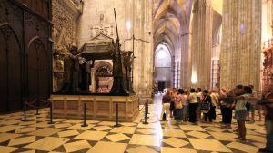 Kolumbuksen hautamonumentti Sevillassa