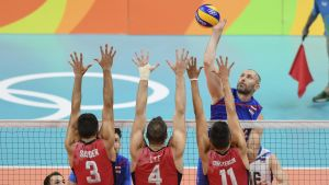 USA:s volleybollherrar stod för en imponerande vändning i bronsmatchen.
