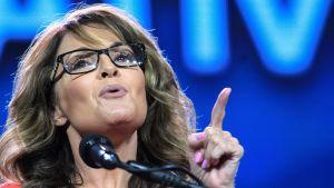 Sarah Palin under ett framträdande