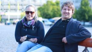 Anne-Mari Ikola och Kalle Koskela