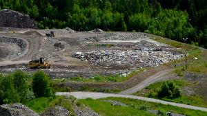 Deponiområdet vid Domargårds avstjälpningsplats