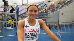 Cecilia Sandell, U23-EM 2017.