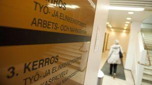 Arbets- och näringsbyrå i Helsingfors.