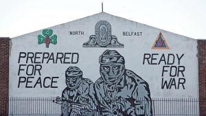 Fredsmuren i Belfast