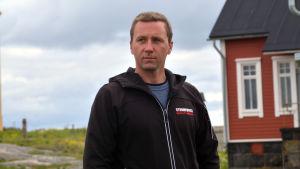 Oskar Berndtsson, direktör för EW Finland som äger Söderskär fyr