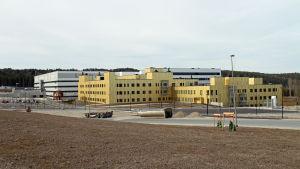 Det nya Östfoldssjukhuset i Sarpsborg i Norge.