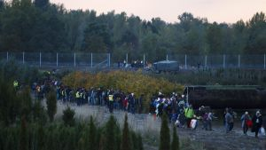 Ungern stängde gränsen mot Kroatien
