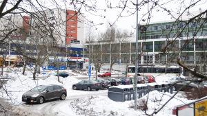 Månskivan heter den här parkeringsplatsen i Olars