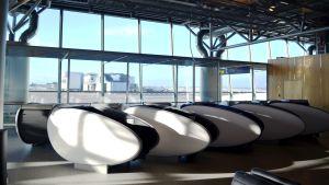 sovkokonger på Helsingfors-Vanda flygplats