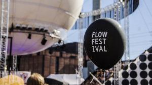 Ballong på Flow 2015.
