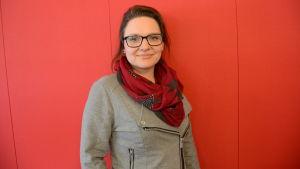 Anna Käcko-Englund är ansvarig handledare vid Oravais flyktingbyrå
