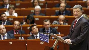 Council of Europe, Petro Poroshenko