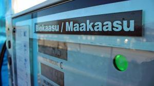 Biokaasu- ja maakaasuaseman mittaristo