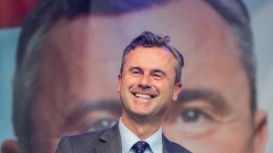 Norbert Hofer, presidentkandidat i Österrike
