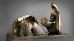 Skulptur av Henry Moore