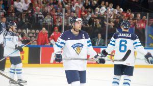 Valtteri Filppula i matchen mot Schweiz