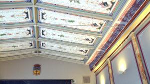 Takmålningar i Lovisa huvudbibliotek