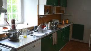 Köket i Diktarhemmet i Borgå