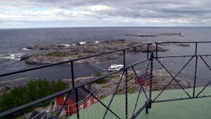 Utsikt från Söderskär fyr