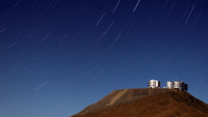 ESO:s teleskop (VLT) i Paranal, Chile.