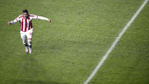 Derlis Gonzalez sköt Paraguay till semifinal i Copa America 2015.