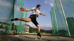 Det blir inget VM i Kina för Robert Harting.