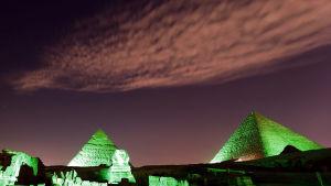 Staden Giza är mest känd för de stora pyramiderna i utkanterna av Kairo