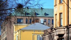 Hus i Vasa centrum.