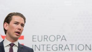 Österrikes utrikesminister Sebastian Kurz.