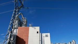 UPM, pappersfabriken, i Jakobstad