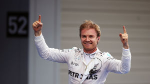 Nico Rosberg är en tysk racerförare.