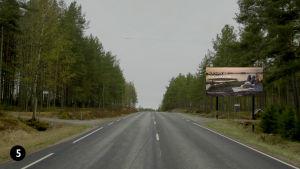 Förslag på välkomstskylt, Kimitoöns kommun.