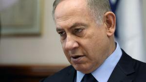 Israels premiärminister Benjamin Netanyahu i Jerusalem.