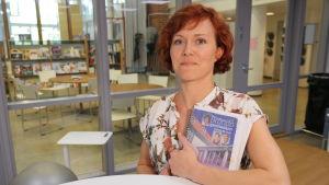Pia Winell, studiehandledare i Brändö gymnasium