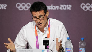 Sebastian Coe under OS i London