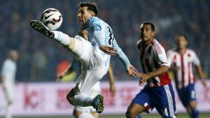 Messi mot Paraguay 2015