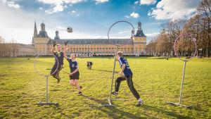 Quidditch-träning, Tyskland, våren 2016.
