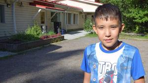 Mohammed Hussein Mohammadi är 11 år gammal, han har vuxit upp i Iran
